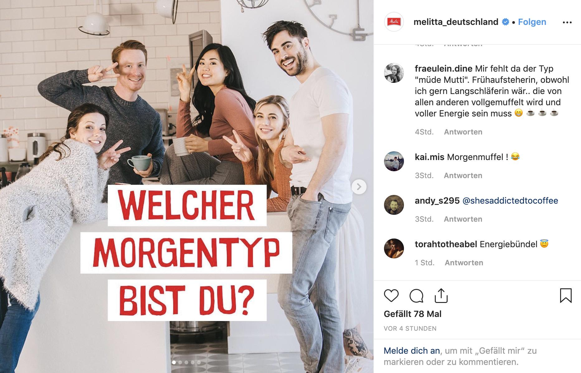 Instagram MELITTA